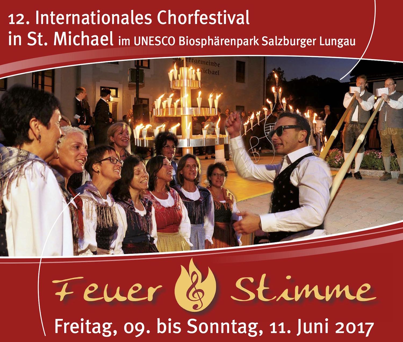 FEUER & STIMME Konzert Pfarrkirche Unternberg